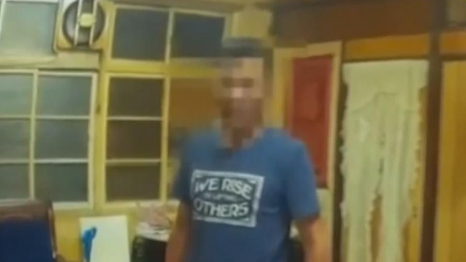 失業男酗酒毀屋咆哮 砸破酒瓶傷警還嗆聲