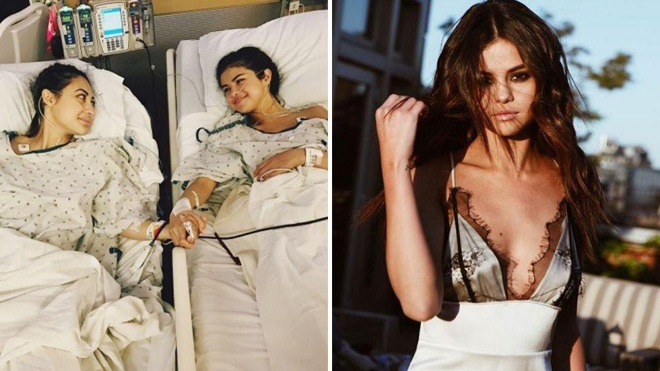 驚呆!小天后賽琳娜「紅斑性狼瘡」復發 閨蜜緊急捐腎救命