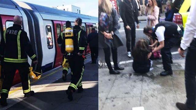 恐怖攻擊!倫敦地鐵「桶裝炸彈」引爆 多名乘客臉部被燒傷