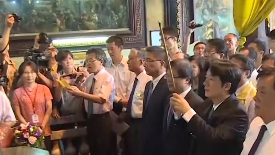賴清德就任後首次回娘家 台南鄉親熱情迎接