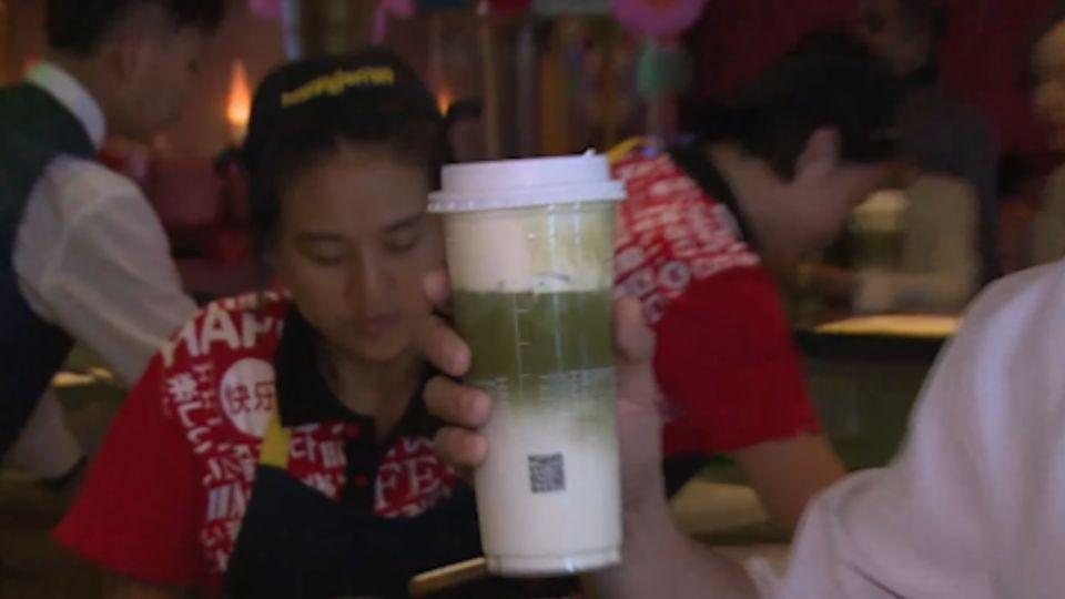 台灣茶飲別出心裁 郵輪上開分店行銷全球
