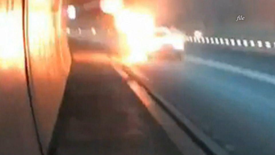 雪隧驚傳火燒車後 燒出消防設施維護黑洞