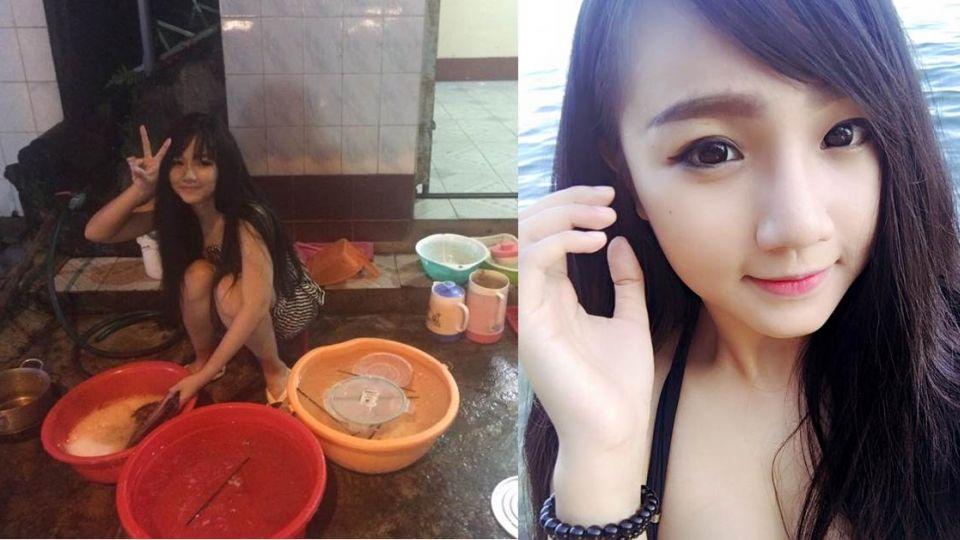 神到了!越南小吃店「洗碗妹」美如仙 真實身分讓網哭一遍