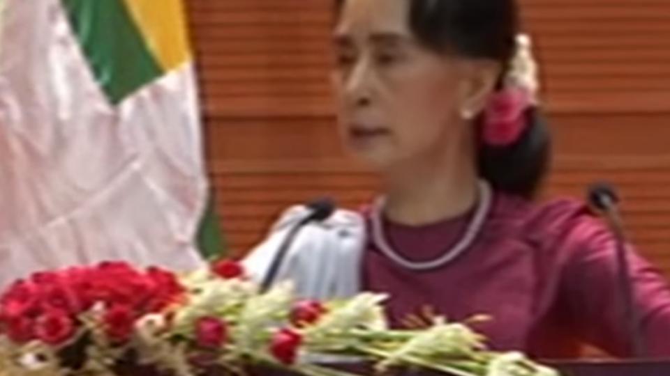 終於面對 翁山蘇姬談羅興亞屠殺:譴責違反人權