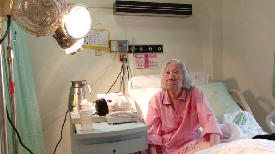 身價破億!91歲富婆霸床位4年 要榮總「專機飛美國」才出院