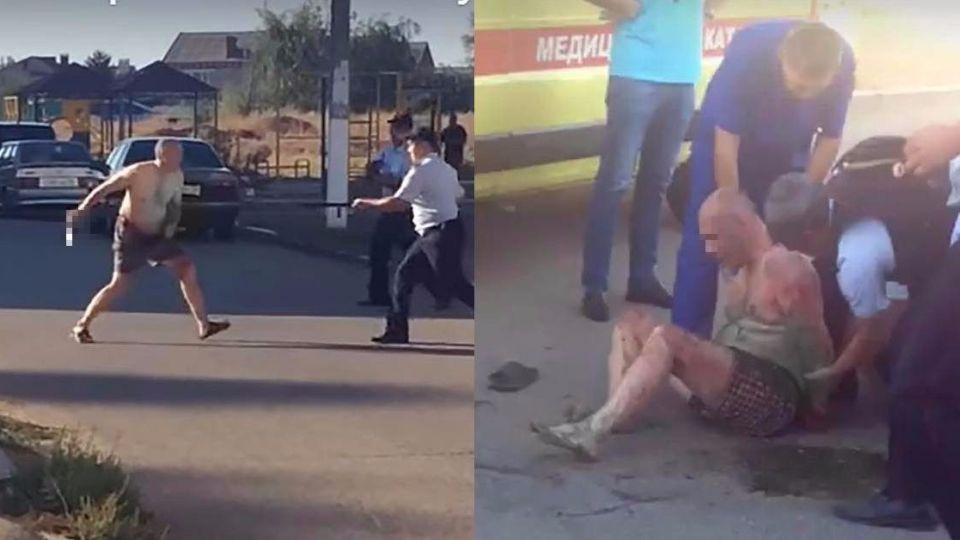 【影片】嫌太吵…男持菜刀斬首1歲半女嬰 竟還「提著頭顱」當街甩