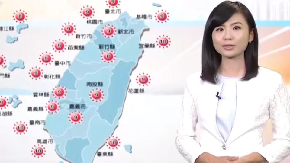 【2017/09/22】南方低壓雲系北移 明迎風面東部偶雨