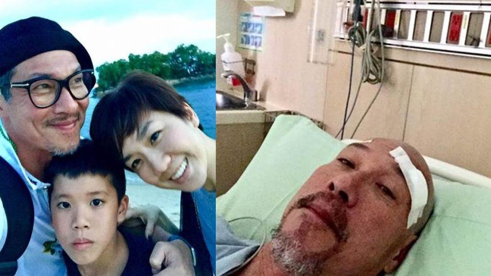 集氣!黃仲崑今天「開腦動手術」 臉書公布「最新健康狀況」