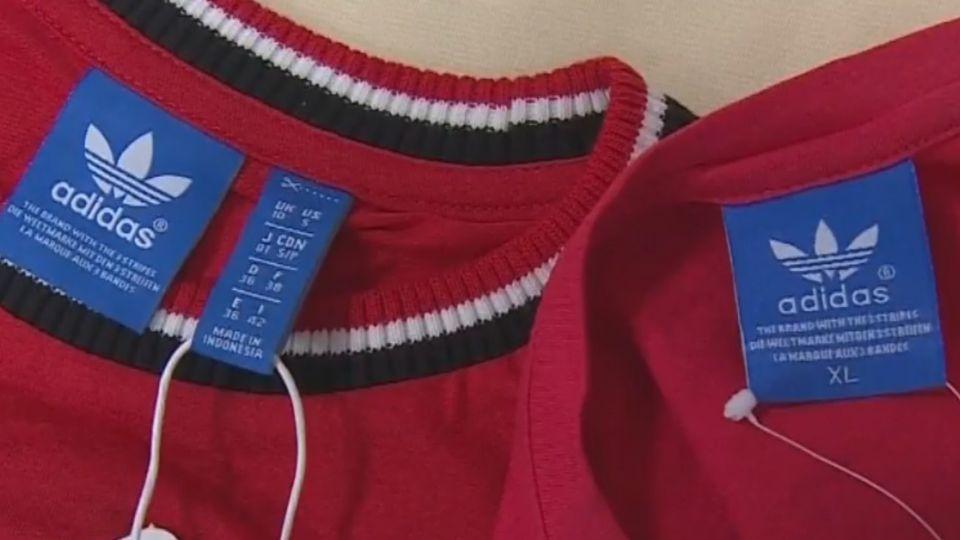 市場賣知名盜版衣 2000多件仿品市值逾200萬
