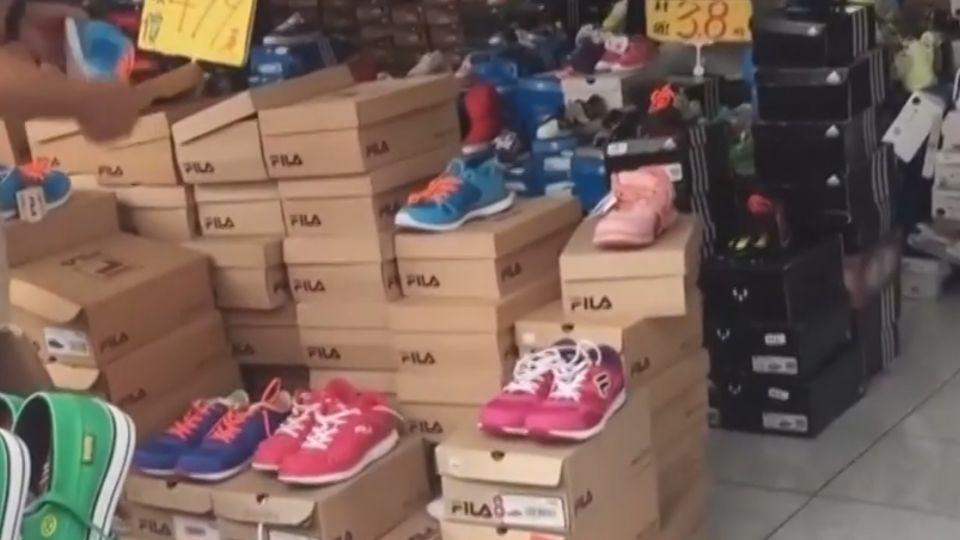 直擊!鞋款特賣下殺3 8折 以量制價非仿品
