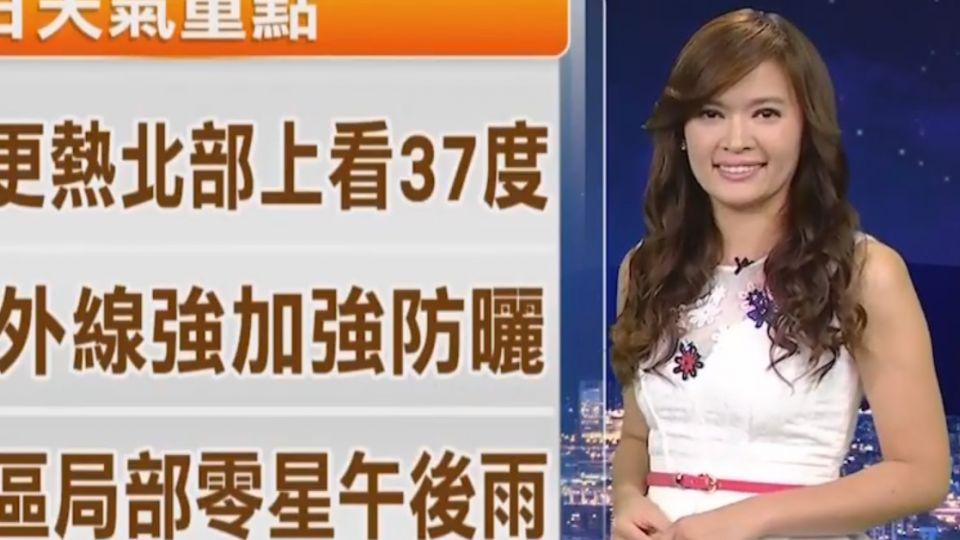 【2017/09/25】秋老虎持續發威! 今嘉義35.8度 台北35.5度
