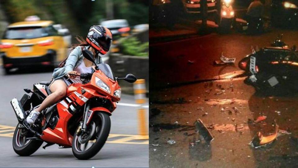 模特兒夢碎!19歲正妹女大生騎檔車 慘遭「酒駕男」撞死