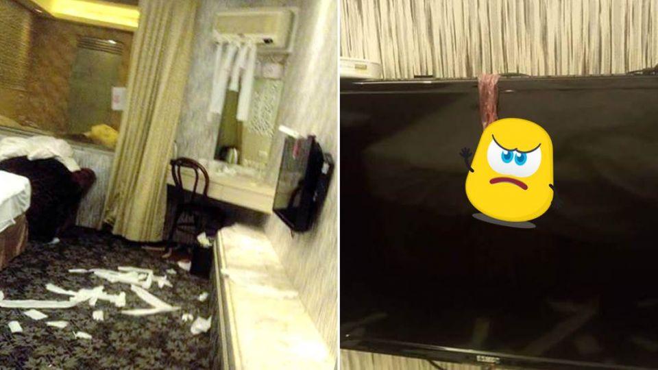 奧客拆床組破壞旅店…還亂掛「留汁」保險套 房務心酸PO文