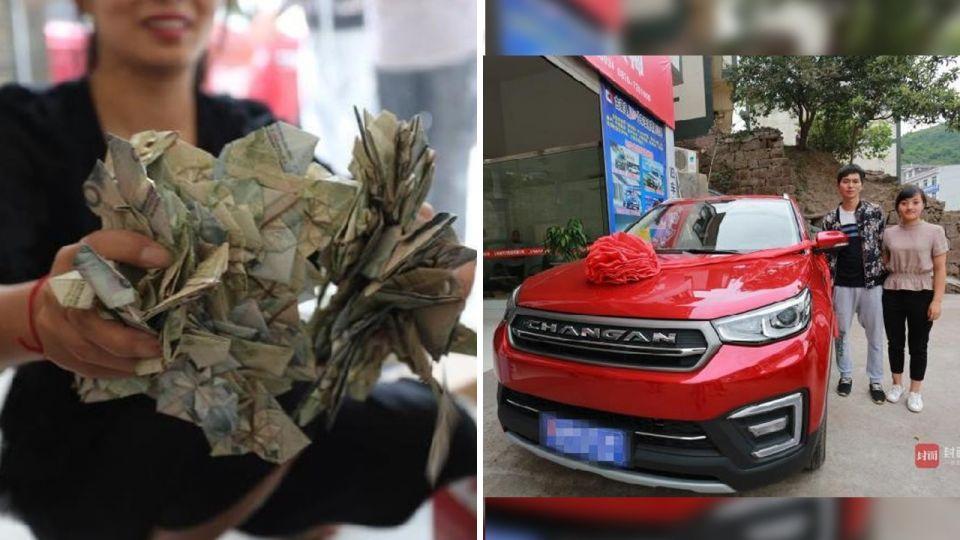 浪漫存錢法!暖男每日送妻50元「愛心鈔」 6年後爽買新車