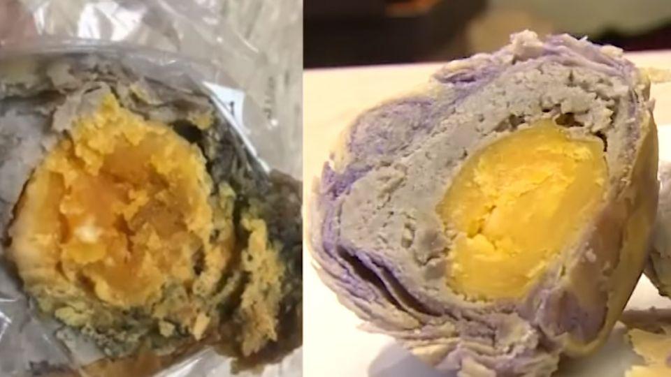蛋黃酥發霉吃下肚 業者:天熱沒防腐劑導致