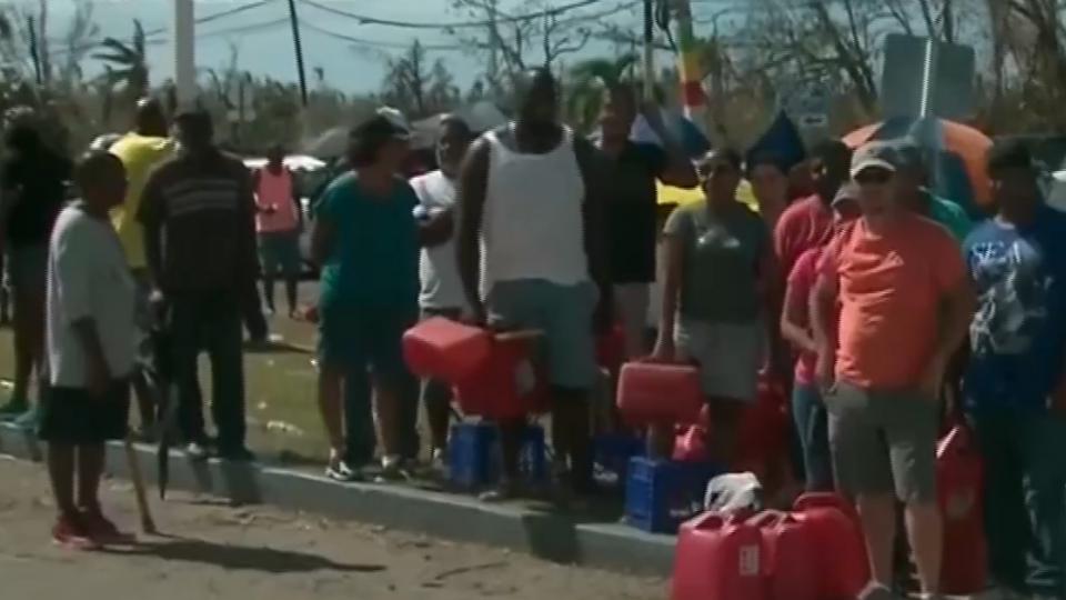 排隊等加油、取水、洗衣 波多黎各淪「第三世界」