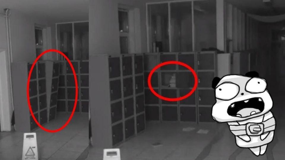 【影片】詭異!學校半夜櫃子搖晃、紙張噴出 校長:狗也不敢經過