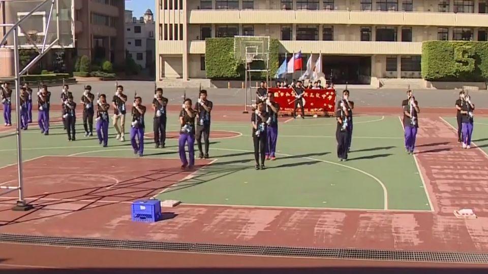 新興高中儀隊獲全國冠軍 國慶上秀特技