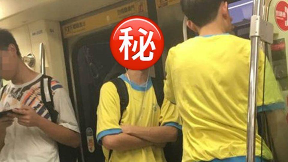 男女通殺!捷運遇薇閣高中「濃眉鮮肉」 網狂喊:跪求臉書