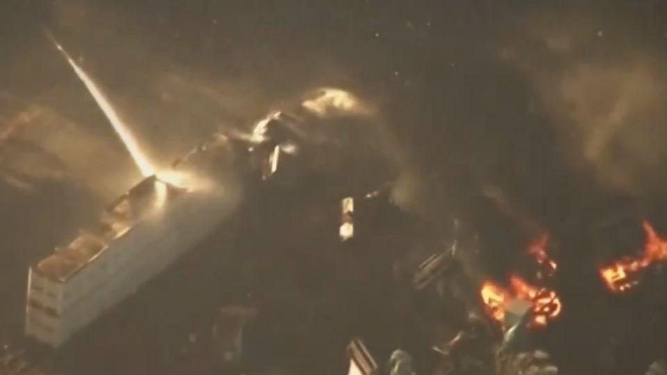 「即刻救援」 美警開車進火場 救出身障婦