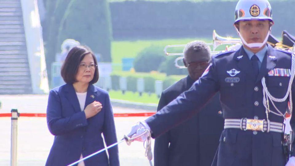 蔡英文訪索羅門前夕 總理蘇嘉瓦瑞面臨倒閣
