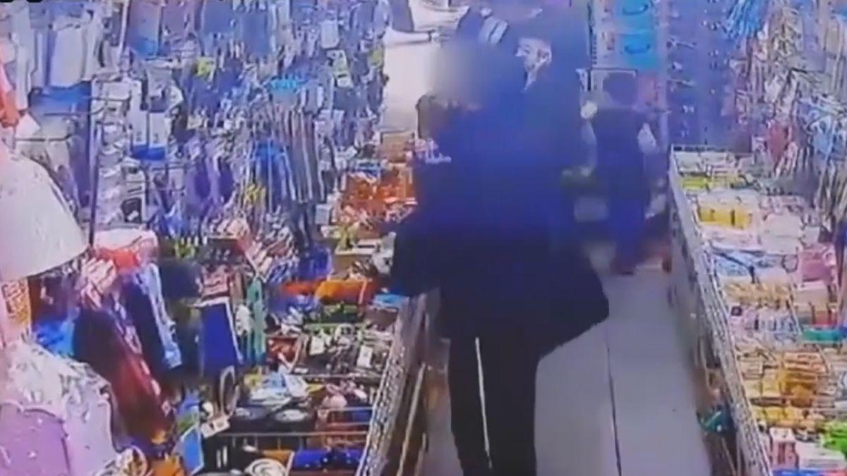鴛鴦盜偷10元店! 調監視揪賊「先偷後退」