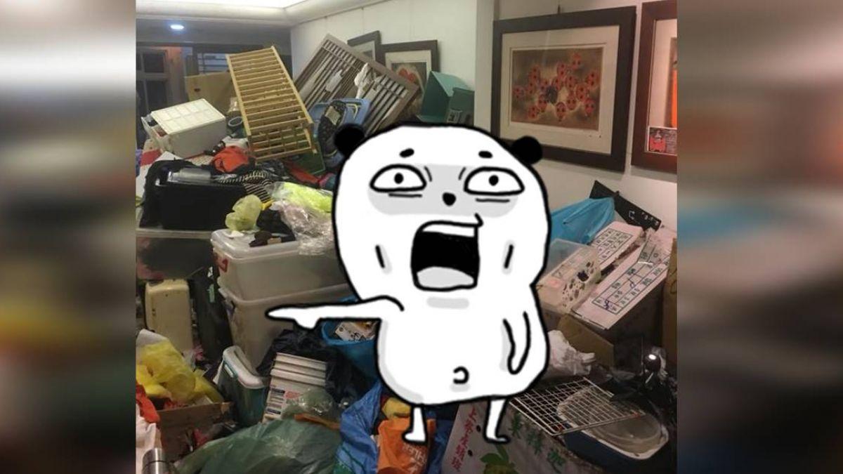 岳母愛「撿廢物」回家…剛整理完秒變垃圾山!人夫超崩潰