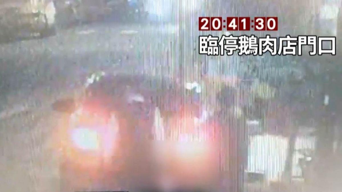 【影片】欠債300萬…鵝肉店遭縱火1死5傷 15秒犯案過程全曝光!