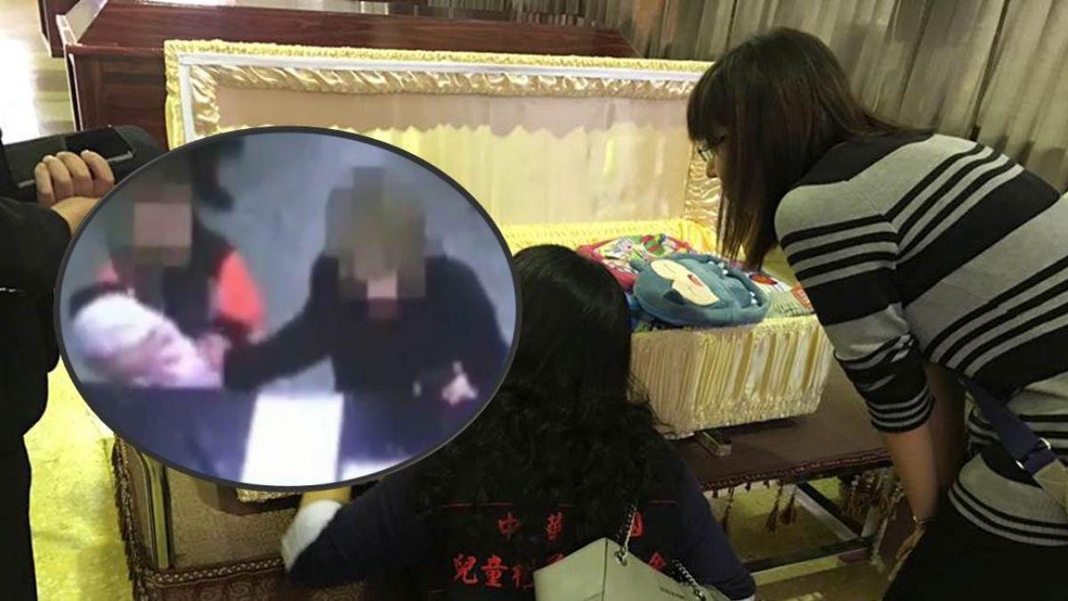 遭虐死4歲女童出殯!「想要阿嬤抱…」遺體竟然落淚