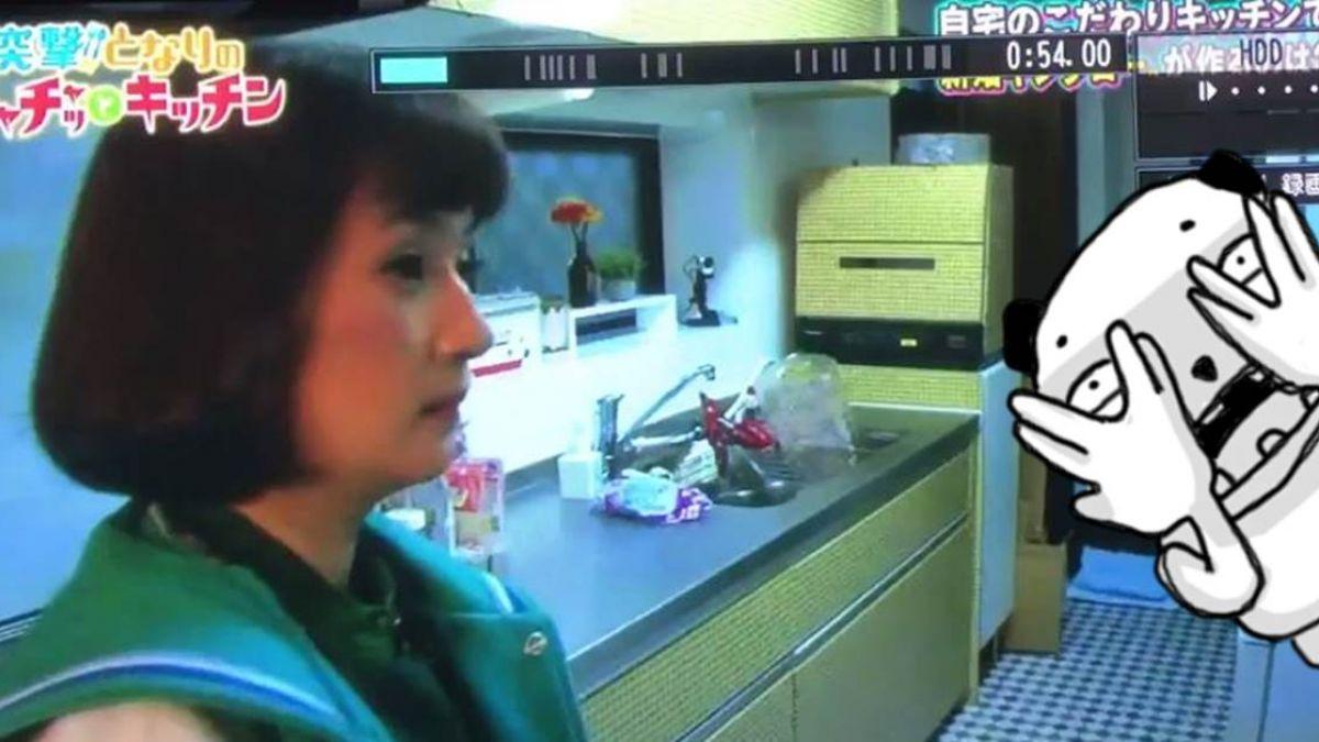 節目驚見靈異現象!蒼白女人現身廚房一角 放大看超驚悚