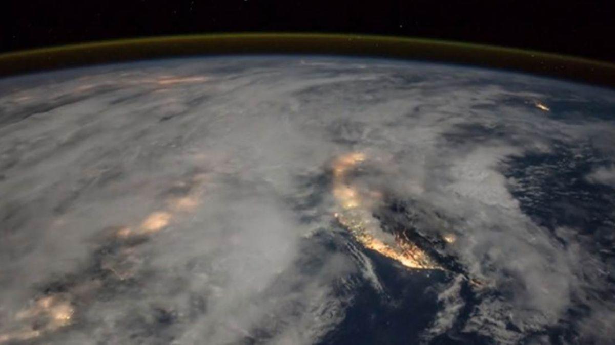 【影片】好美!NASA空拍閃電台灣也入鏡 這地方超吸睛