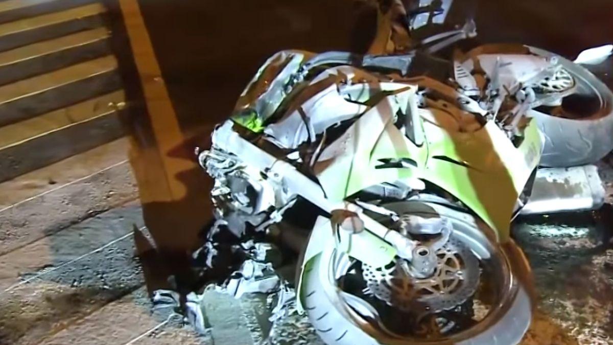 「像炸彈爆炸」 撞違規迴轉客運 紅牌重機2喪命