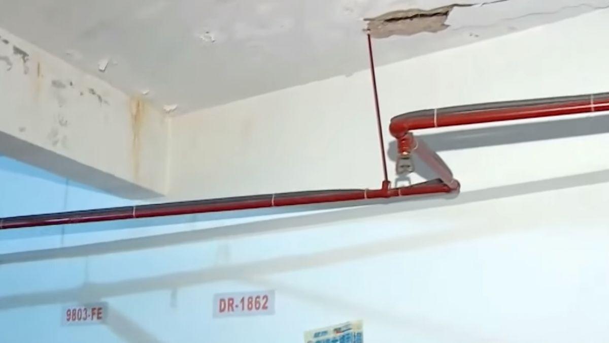 20噸金庫壓垮社區梁柱 銀行確定拆除金庫