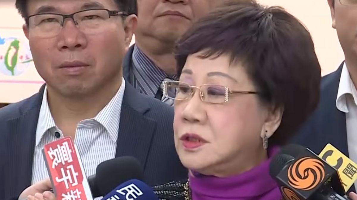 反對再禮讓柯P 呂秀蓮:除非民進黨準備失去政權
