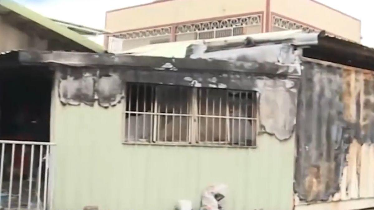 貨櫃屋要命惡火! 13歲姊喪生、兩弟妹燒傷