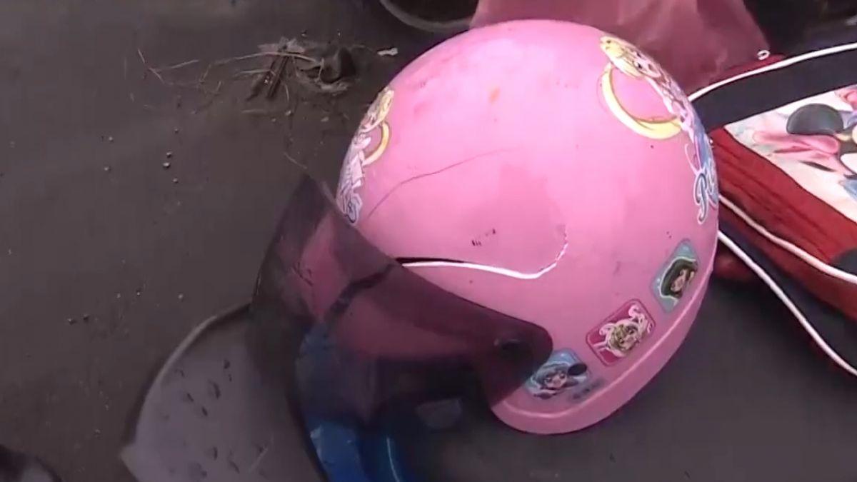 女童安全帽「過期」 專家:2-3年就得更換