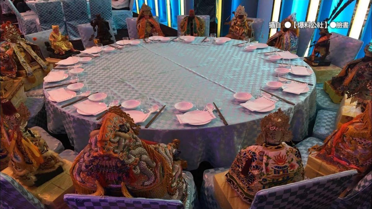 正港請神桌! 婚宴邀16位神明入席 魚肉款待