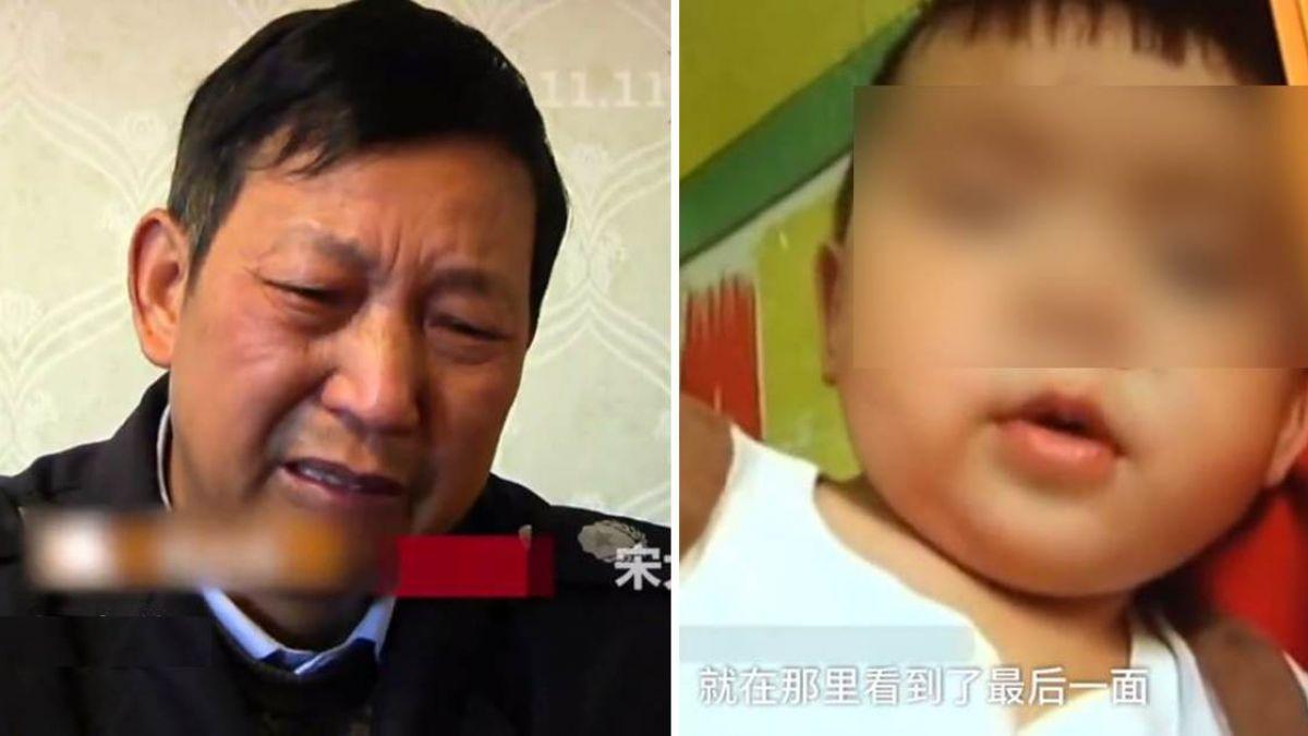 見義勇為攔小偷!2歲孫竟遭輾吐血亡…熱心爺爺痛哭「我的錯」