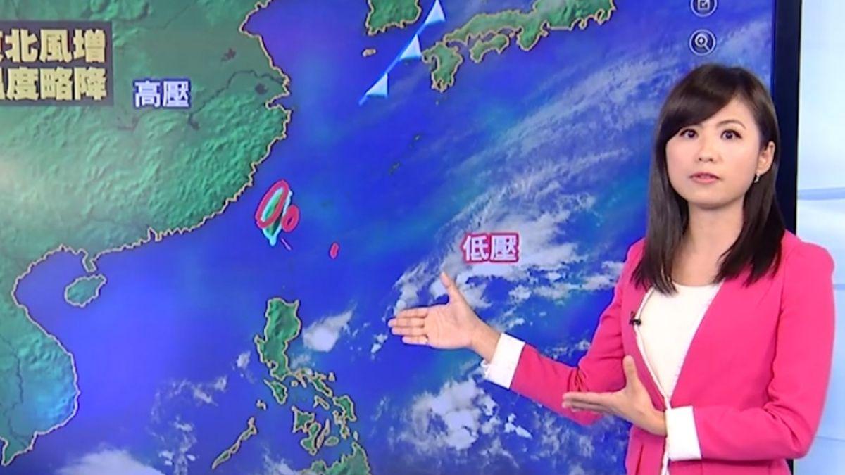 【2017/12/10】明天東北風影響 北東雲量多、高溫18度