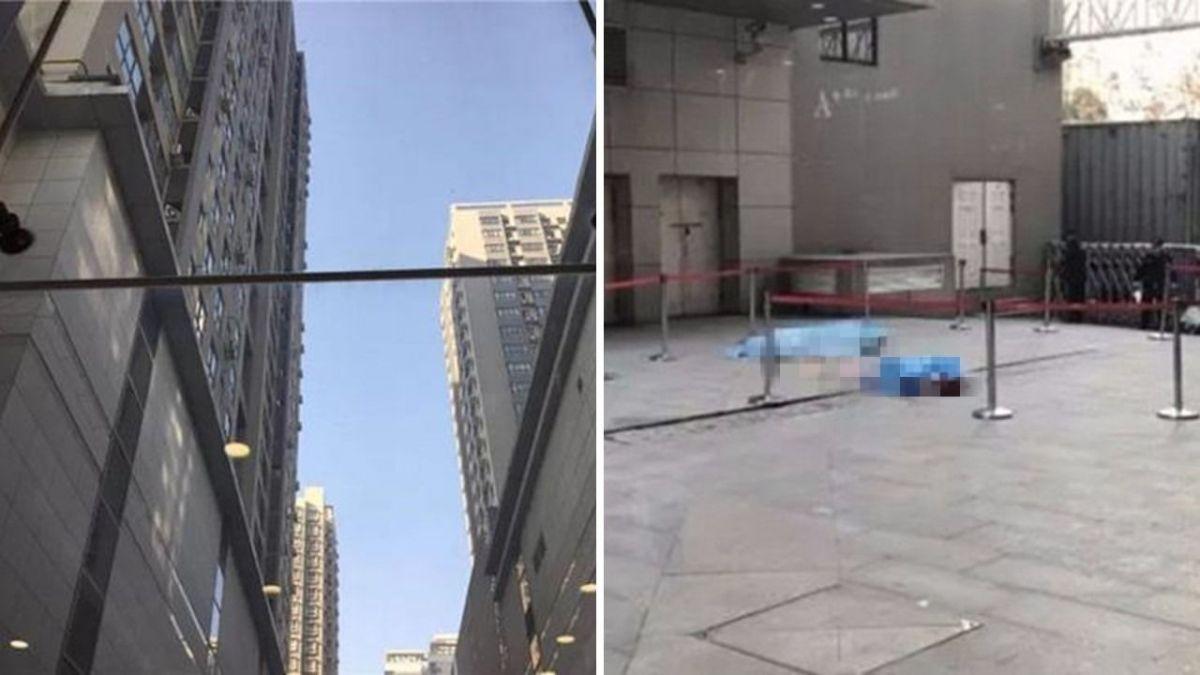 女跳11樓輕生…衝擊力道大!熱血保安伸手接 慘遭砸中雙亡
