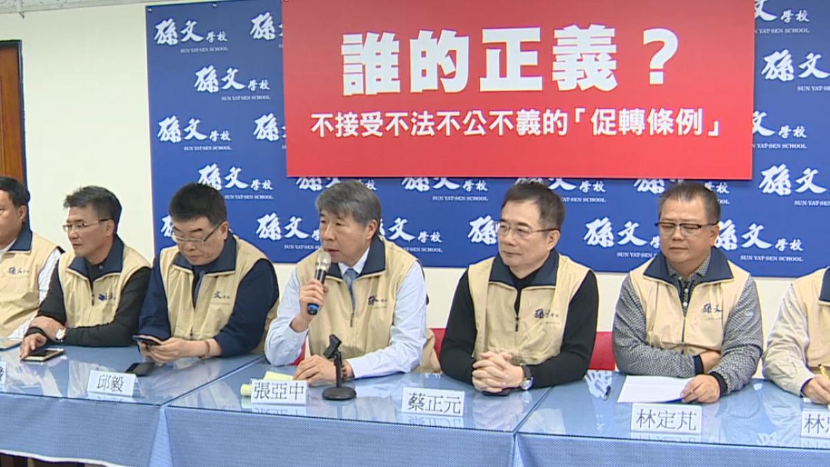「正毅兄弟」復出批促轉 蔡正元:該拆的是總統府