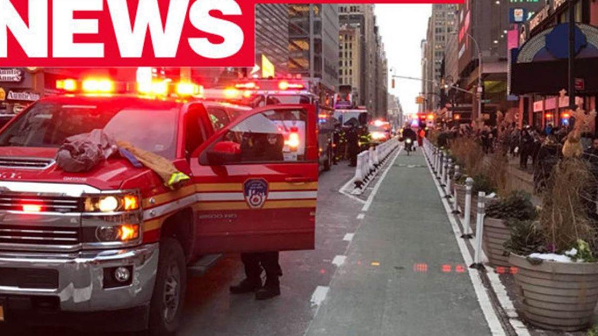 【最新】美國紐約公車總站發生大爆炸! 多條地鐵進行疏散