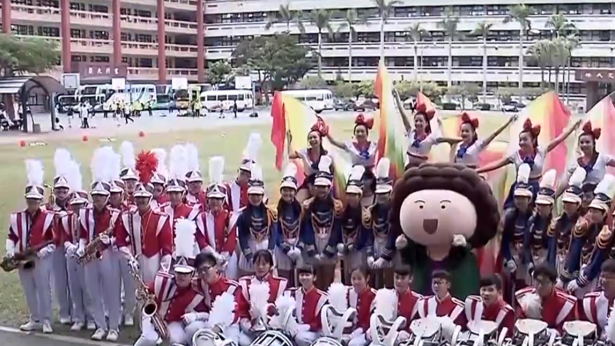 亞洲最大氣偶大遊行十周年 特優樂儀旗隊助陣