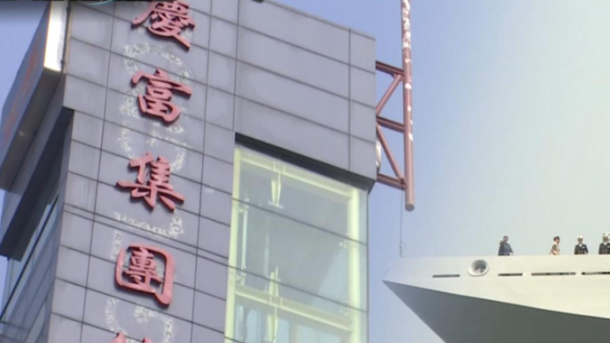 國防部函告獵雷艦解約 陳慶男閉口不發一語