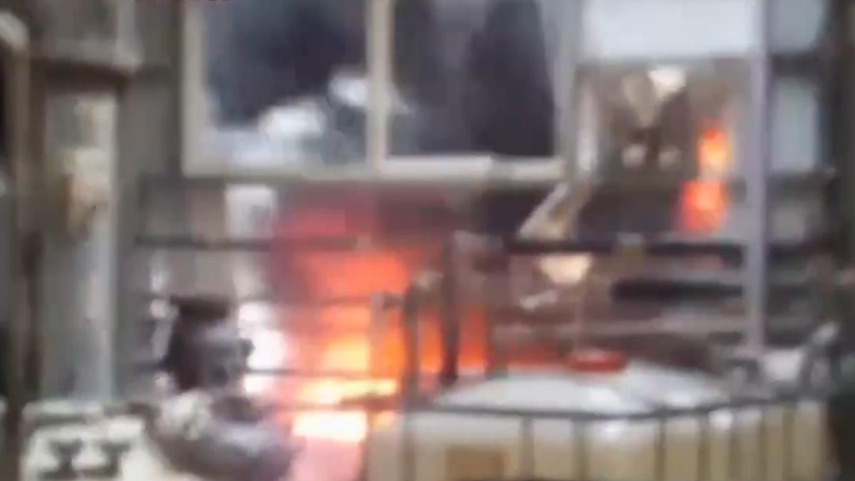 宜蘭冬山15噸甲苯槽氣爆 1傷者90%灼燒