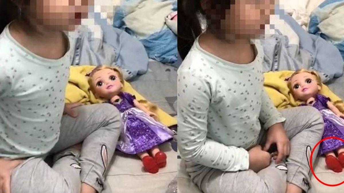 女童唱「我需要你」…身旁娃娃的腳動了 網驚:嚇到吃手手