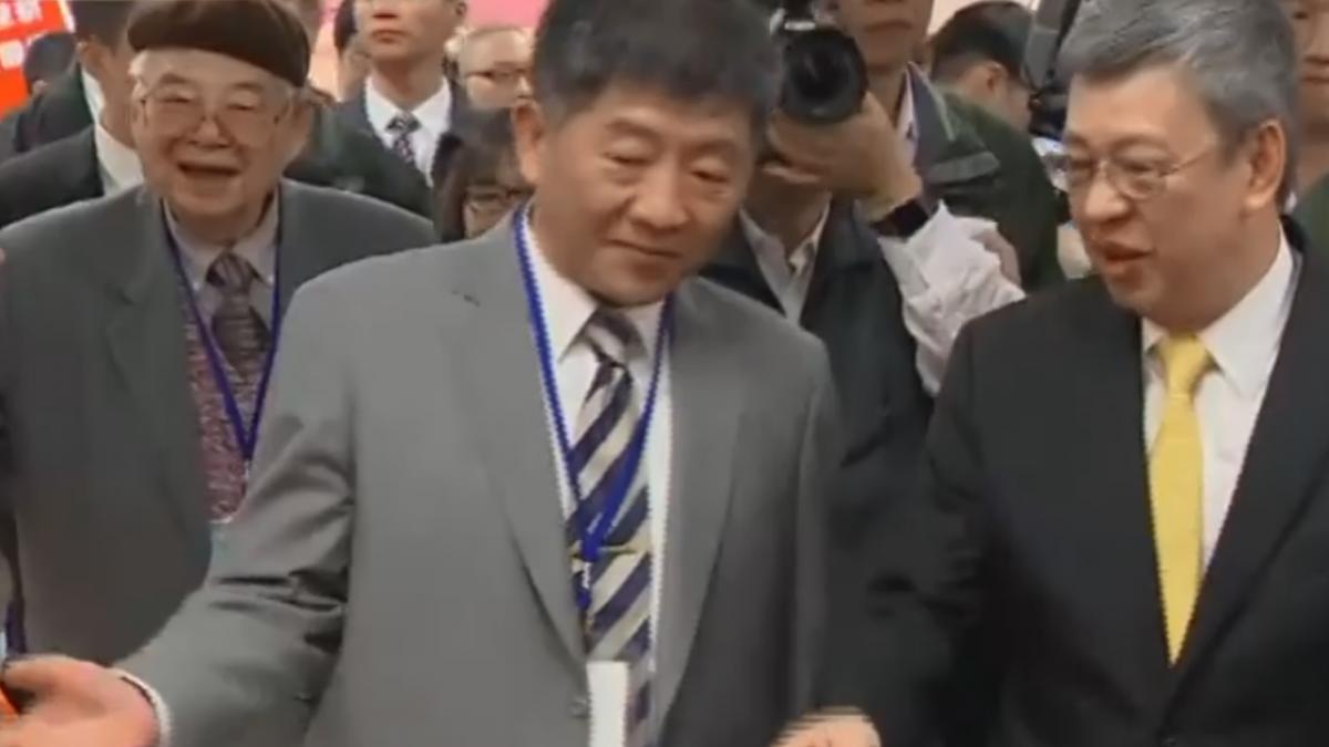 副總統與環團見面遭疑摸頭 臨時取消