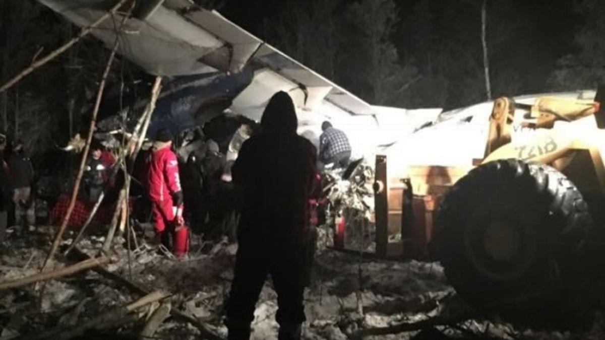 奇蹟!加拿大客機剛起飛就墜毀 全機25人幸運生還