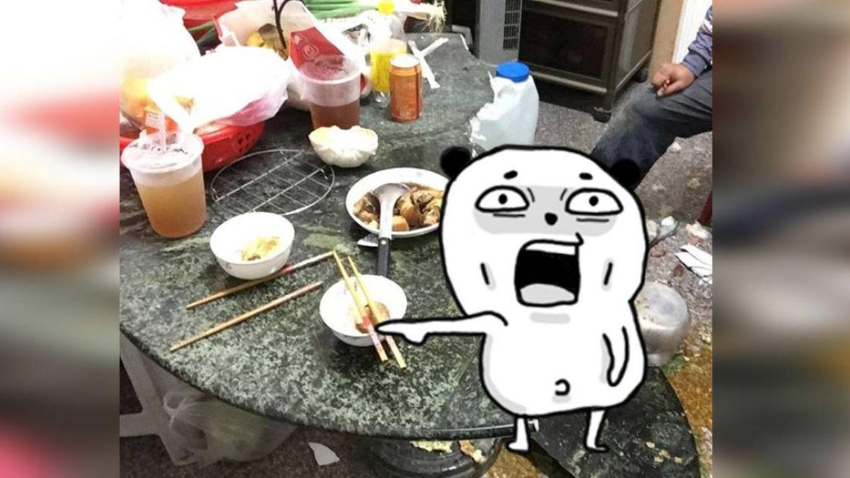 晚餐全毀!「阿嬤滷肉」一上桌…壓垮大理石桌 他傻眼崩潰