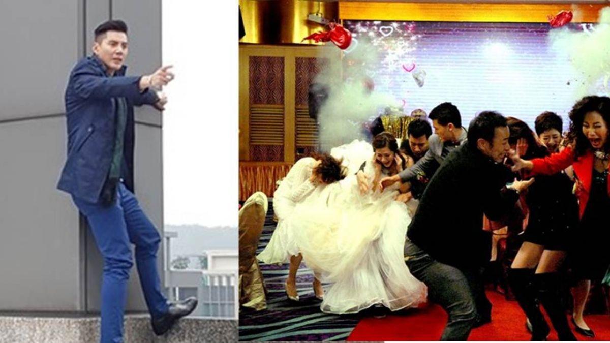 王凱情傷變渣男! 帶炸彈爆前女友婚禮再跳樓
